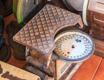 Old scales Royalty Free Stock Photo