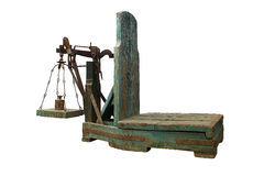 Old scales Stock Photos