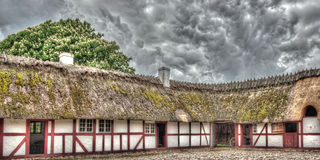 Old scandinavian farm in HDR Royalty Free Stock Image