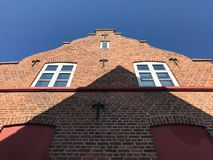Old Scandinavian house, Denmark Stock Photo