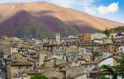 Old Scanno in Abruzzo Royalty Free Stock Photos