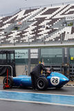 Old Scarab F1in Magny-Cours Royalty Free Stock Images