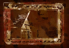 Old scary house Stock Photography