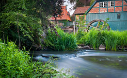 Old scenic watermill Stock Photo