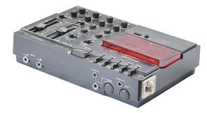 Old-school 4-track recorder Stock Photos