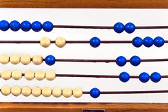 Old school abacus Royalty Free Stock Images