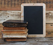 Old school books Royalty Free Stock Photography