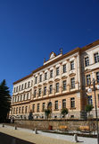 Old school building. Big old building of an elementary school Royalty Free Stock Photography