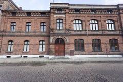 Old school building Royalty Free Stock Photos