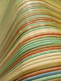 Abstract photo of old retro cafeteria trays royalty free stock photos