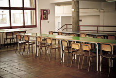 Old school canteen Royalty Free Stock Photos