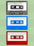 Old School Cassette Stock Photography