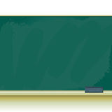 Old school chalkboard Stock Image