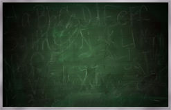 Old School Chalkboard, Greenboard or Blackboard Royalty Free Stock Photos