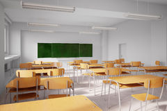 Old school classroom Stock Image