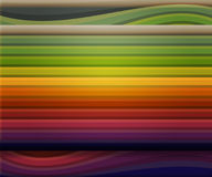 Old School Colorful Shapes Background Royalty Free Stock Photos
