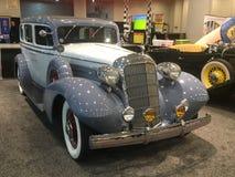 Old school Crusier NYC Auto show 2017 stock photo