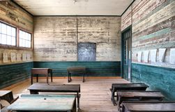 Old School. In the desert in the north of Chile, Humberstone Stock Photos