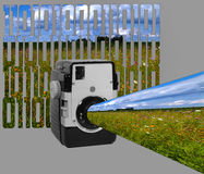 Old School Digital Royalty Free Stock Image