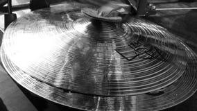 Old School Drumming Royalty Free Stock Photos