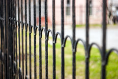 The old school fence Stock Image