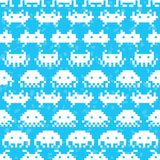 Old school game vector pattern Stock Photos