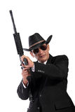 Old-school gangster style Stock Photo