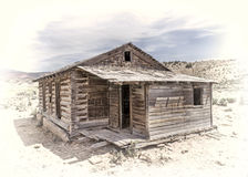 Old school house in western Colorado Stock Images