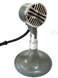 Old school microphone Royalty Free Stock Image