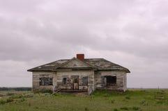 Old school in Montana. Stock Photos