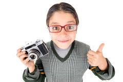 Old school photographer Royalty Free Stock Images