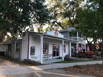 Old School Pizzeria, Port Royal, South Carolina.  Royalty Free Stock Images