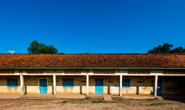 Old school in province Cambodia Sep 2015 Royalty Free Stock Image
