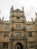 Old School quadrangle in Oxford. The Tower of the Five Orders royalty free stock photography