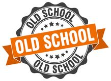 Free Old School Seal Stock Images - 106507984