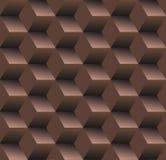 Old school seamless background, diamond chocolate Stock Photography