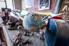 Old school in Zone of Alienation Royalty Free Stock Image
