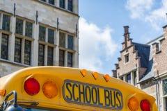 Old schoolbus Stock Photos