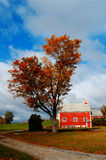 The Old Schoolhouse. An old schoolhouse taken in Grantham, NH during the fall of 2008 Royalty Free Stock Photography