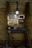Old science fiction machine. Old wired science fiction machine Royalty Free Stock Photography