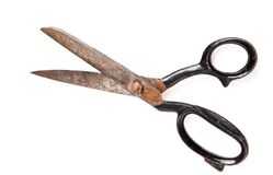 Old scissor Royalty Free Stock Photos