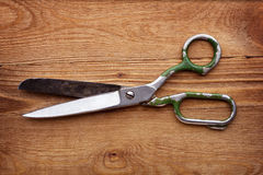 Old scissors Stock Images