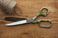 Old scissors Royalty Free Stock Photography