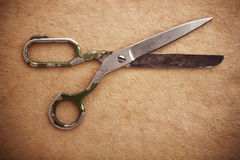 Old scissors Stock Photography