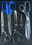 Old scissors Stock Photos