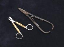Old scissors Stock Photo