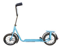Old Scooter Royalty Free Stock Photo
