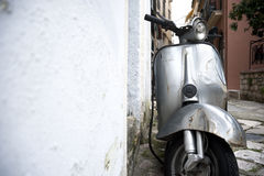 Old scooter Stock Images