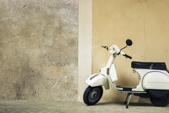 Old scooter in Italy Royalty Free Stock Photo