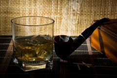 Old Scotch Whisky Royalty Free Stock Images